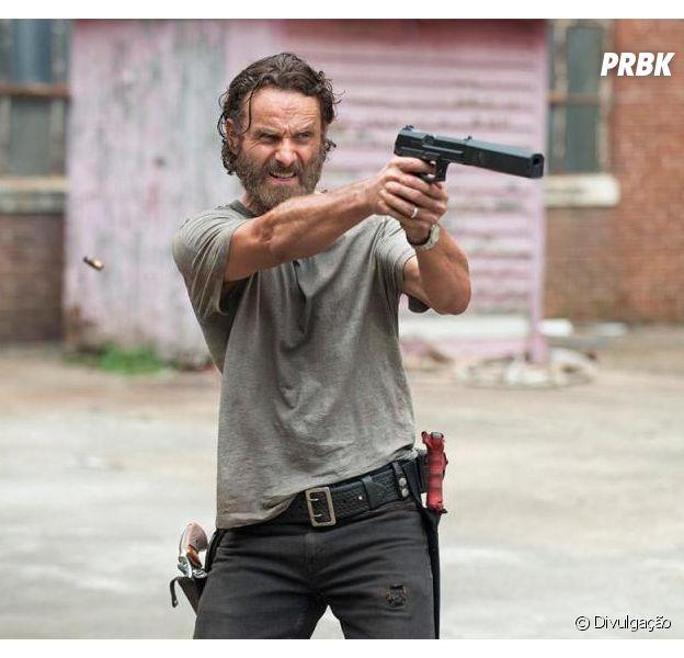 """Em """"The Walking Dead"""", na 8ª temporada: Rick (Andrew Lincoln) se prepara para a guerra em novo teaser!"""