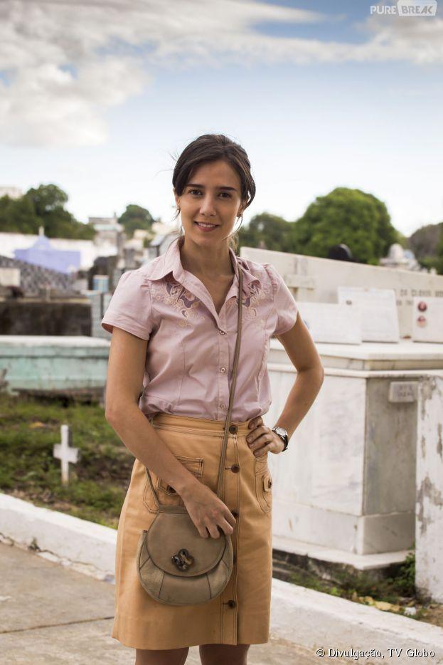 """Marjorie Estiano comenta sobre caráter de Cora, vilã de """"Império"""": """"É extremamente egocêntrica e controladora"""""""