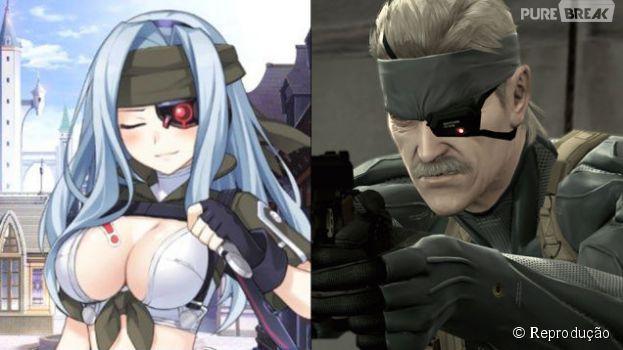 Os personagens de famosas franquias japonesas foram transformados em anime girls