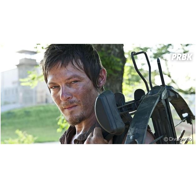 "Norman Reedus interpreta Daryl Dixon no seriado ""The Walking Dead"""