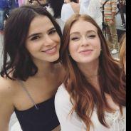 Bruna Marquezine e Marina Ruy Barbosa aparecem juntas em clique antigo com Kelly Key