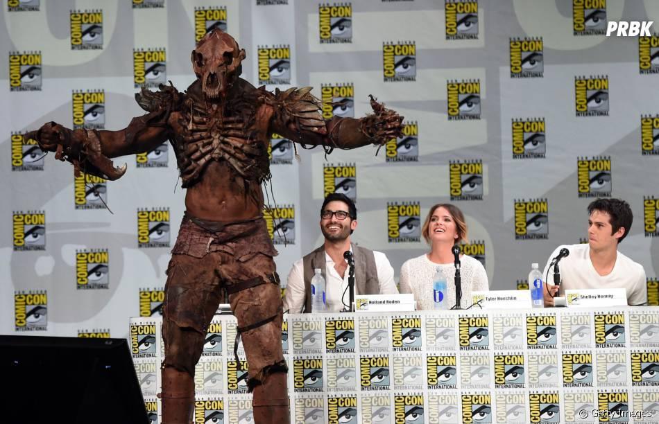 """Até o Berserker apareceu no painel de """"Teen Wolf"""" junto com os atores na Comic-Con 2014"""