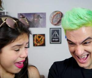 Felipe Neto e Melody fazem vídeo juntos