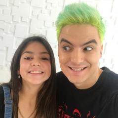 """Felipe Neto faz vídeo com Melody do falsete: """"Feat. mais polêmico do meu canal"""""""