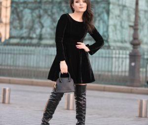 Larissa Manoela faz sessão de foto estilosa em Paris