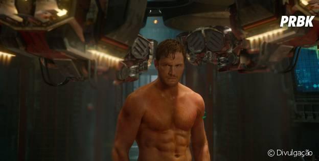 """Chris Pratt vive Senhor das Estrelas, protagonista de """"Guardiões da Galáxia"""""""