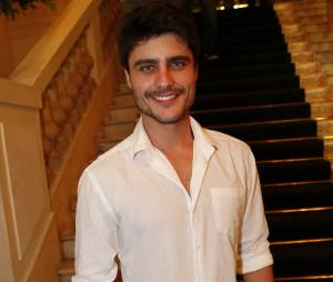 O ator Guilherme Leicam já gravou seu primeiro álbum