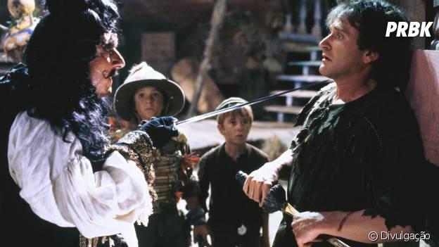"""Hook - A Volta do Capitão Gancho"" traz Robin Williams no papel de Peter Pan"