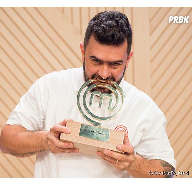 """Campeão do """"MasterChef Profissionais"""", Pablo comemora vitória e analisa trajetória no programa"""