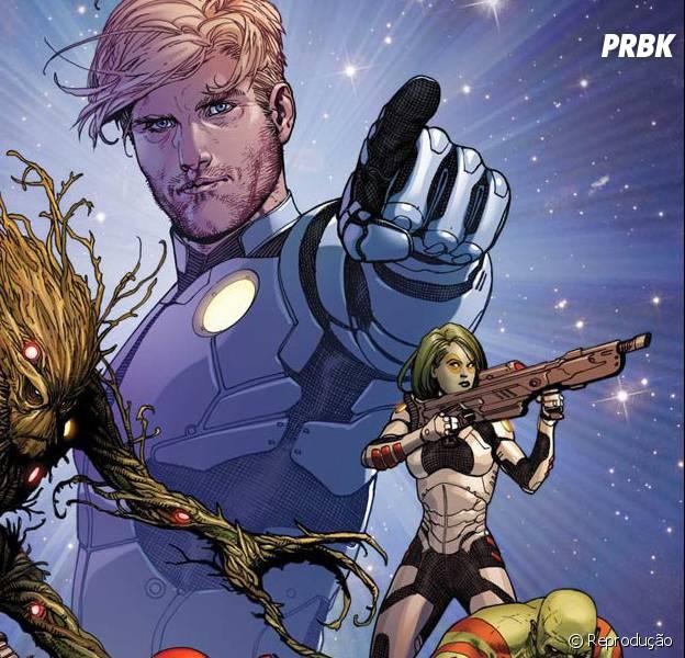 """Os quadrinhos de """"Guardiões das Galáxias"""""""
