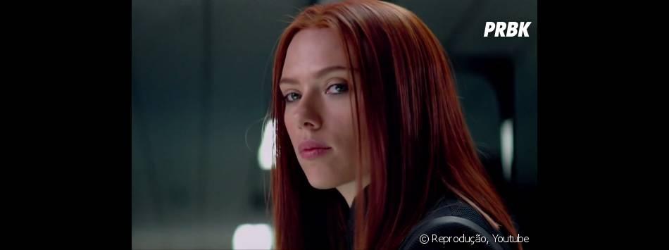 """Scarlett Johansson estrela """"Capitão América 2 - O Soldado Invernal"""" como Viúva Negra"""