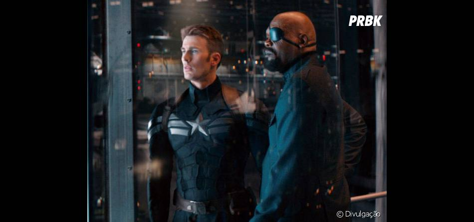 """Nick Fury, papel de Samuel L. Jackson, ajudará Capitão América em """"Capitão América 2 - O Soldado Invernal"""""""