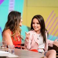 "Larissa Manoela participa de programa da Globo e fala sobre ""Fala Sério, Mãe"": ""Foi incrível"""