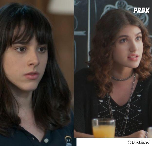 """Em """"Malhação"""", Lica (Manoela Aliperti) e Samantha (Giovanna Grigio) viverão romance"""