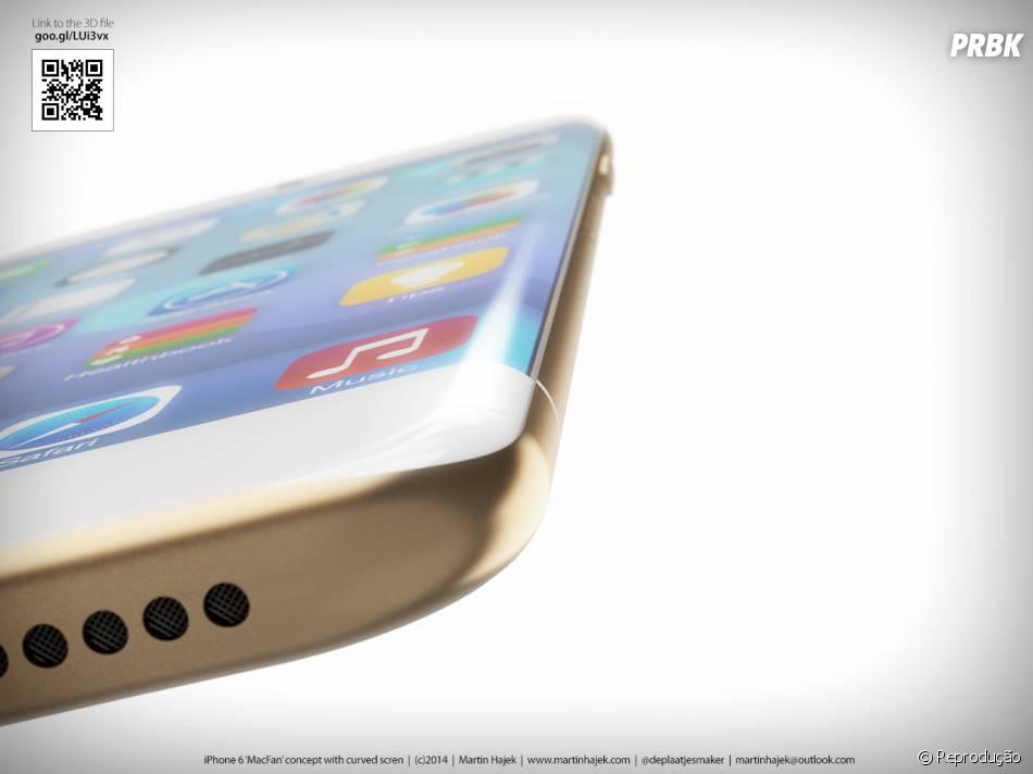 O modelo menor do iPhone 6 deve ter 4,7 polegadas enquanto o maior 5,5