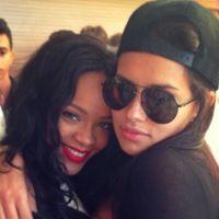 Rihanna e Adriana Lima saem na noite de Los Angeles, EUA. Melhores amigas?