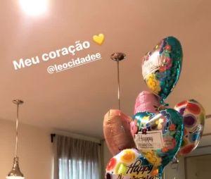 Leo Cidade deu o presente mais fofo do mundo para Larissa Manoela no aniversário de 17 anos da namorada