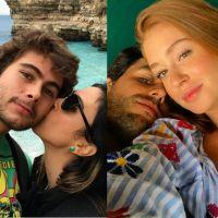 Tatá Werneck e Marina Ruy Barbosa protagonizam beijo coletivo com Rafael Vitti e Xandinho Negrão!