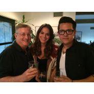 Bruna Marquezine conhece o elenco do filme que irá rodar nos Estados Unidos