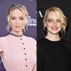 Jennifer Lawrence e Emma Stone explicam porque não foram a festa do Globo de Ouro em vídeo hilário!
