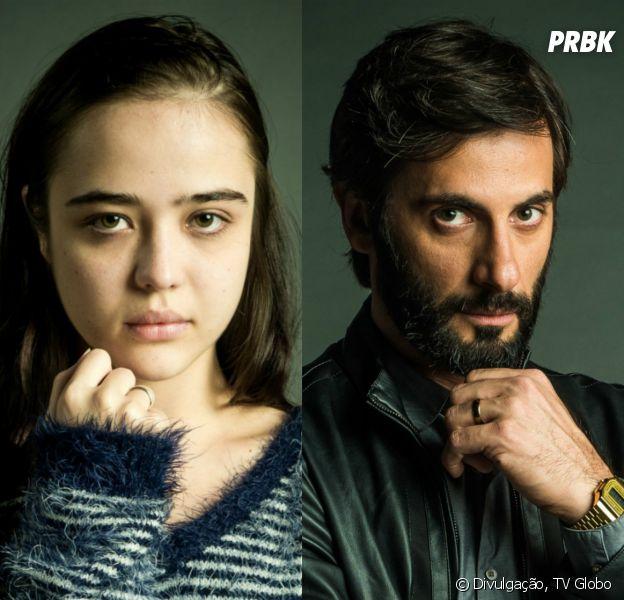 """Em """"O Outro Lado do Paraíso"""": Vinícius (Flávio Tolezani) se declara para Laura (Bella Piero): """"Sempre te amei"""""""