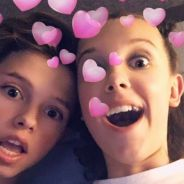 "Millie Bobby Brown, a Eleven de ""Stranger Things"", curte show do namorado Jacob Sartorius"