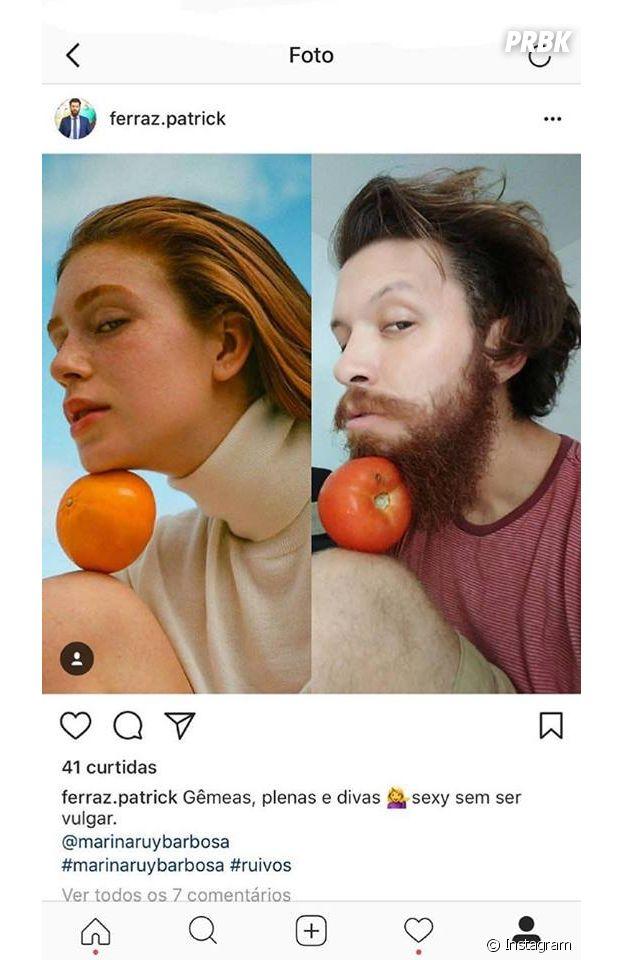 Marina Ruy Barbosa vira meme com foto na Vogue e compartilha as melhores piadas no Instagram!
