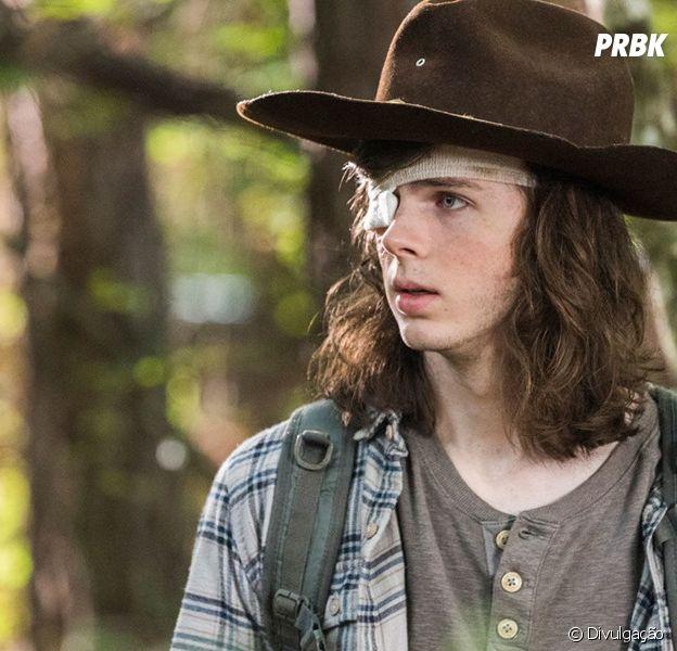 """Em """"The Walking Dead"""": após Carl (Chandler Riggs), novas mortes acontecerão na 8ª temporada!"""