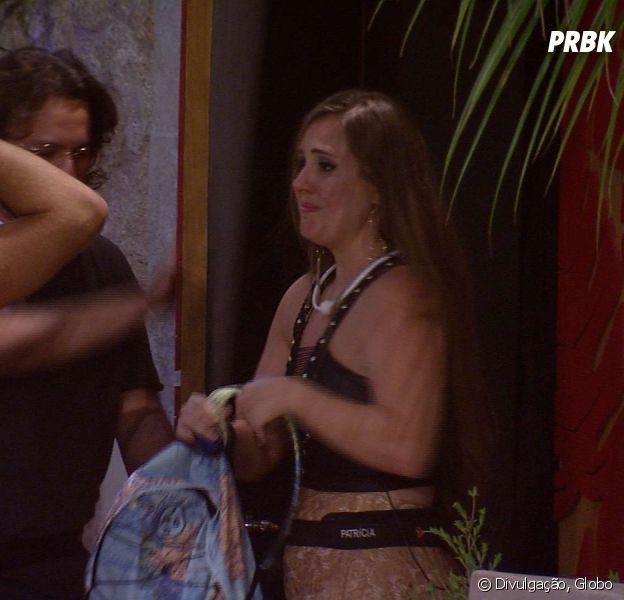"""No """"BBB18"""", Patrícia é eliminada com 94,26% dos votos"""
