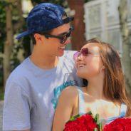 """Larissa Manoela comemora 3 meses de namoro com Leo Cidade: """"Mais do que eu sempre sonhei"""""""