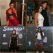 Bruna Marquezine, Mel Maia e mais famosos curtem festa juntos no Rio