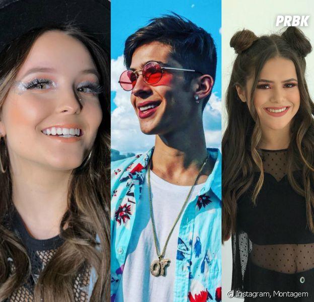 No Lollapalooza 2018: Larissa Manoela, João Guilherme e Maisa Silva foram alguns dos famosos presentes no 3º dia de festival!