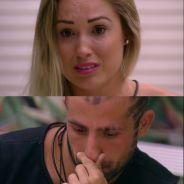 """No """"BBB18"""", Kaysar e Jéssica ficam inconsoláveis com Paredão juntos: """"A gente foi tão burro"""""""