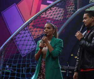 Anitta recebe Belo e Xanddy, do Harmonia do Samba em seu programa