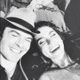 Ian Somerhalder e Nikki Reed trocam juras de amor na internet ao completarem 3 anos de casados