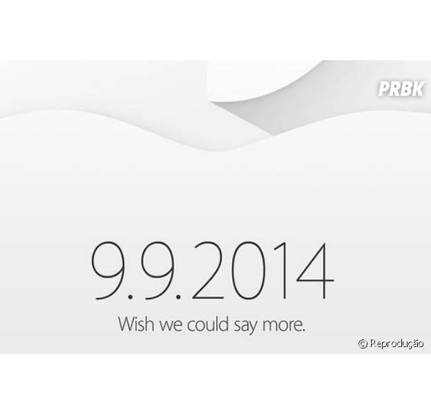 Apple confirma evento para mídia no dia 9 de setembro de 2014