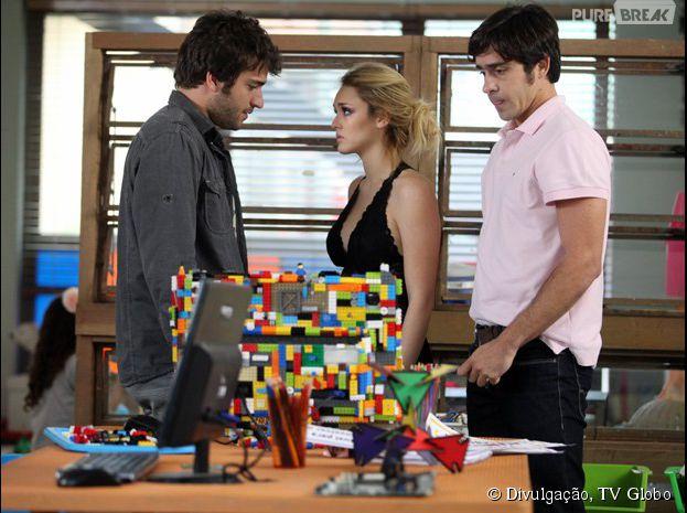 """Em """"Geração Brasil"""", Megan (Isabelle Drummond) pede para morar com Davi (Humberto Carrão)"""