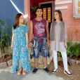 "De ""As Aventuras de Poliana"": o trio Mirela (Larissa Manoela), Raquel (Isabela Moreira) e Guilherme (Lawrran Couto) tem estilos bem diferentes"