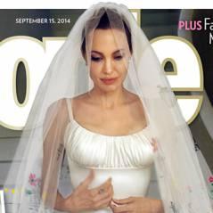 Angelina Jolie e Brad Pitt: vejas as fotos do casório e o vestido da atriz!