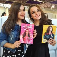 """Larissa Manoela se declara para Maisa em publicação de aniversário: """"Momentos incríveis"""""""