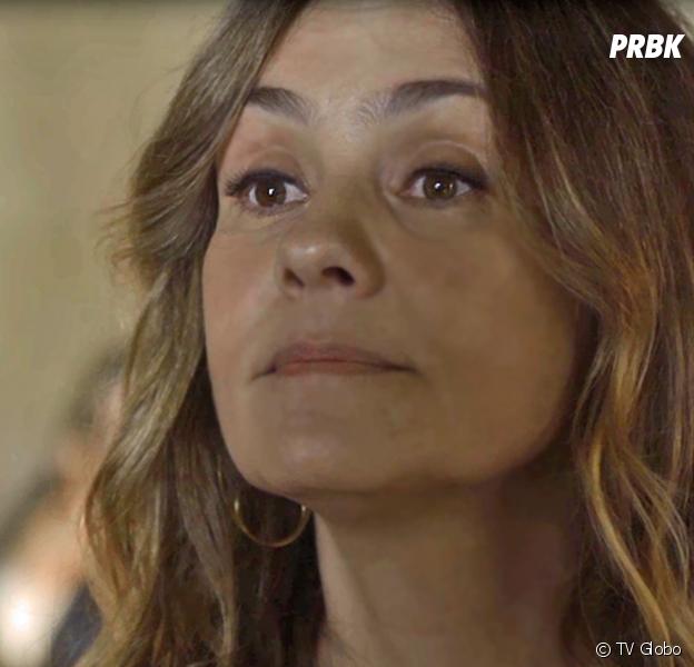 """Em """"Segundo Sol"""", Laureta (Adriana Esteves) marca programa com Ícaro (Chay Suede), sem saber que ele é filho de Luzia/Ariella (Giovanna Antonelli)"""