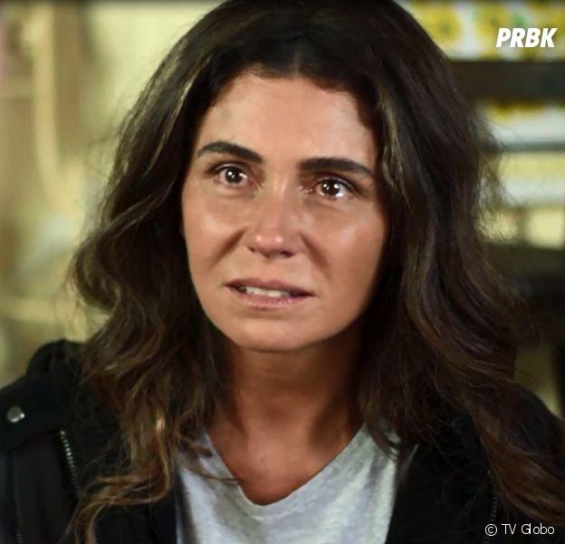 """Em """"Segundo Sol"""", Luzia (Giovanna Antonelli) é encontrada por Karola (Deborah Secco) e as duas acabam brigando feio"""