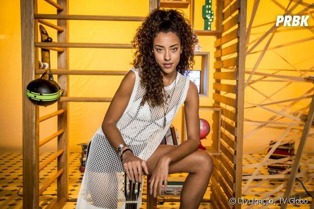 """Em """"Malhação"""", Jade adora penteados descolados"""