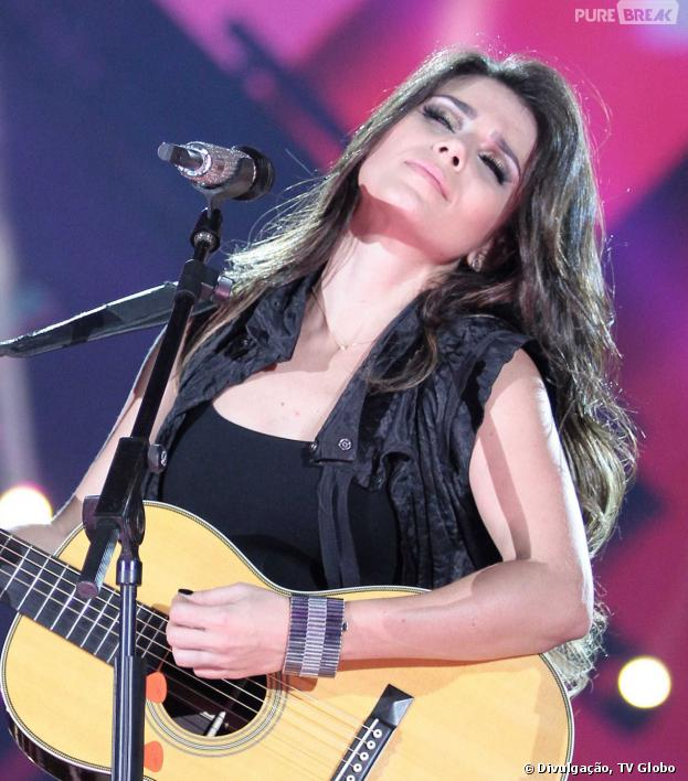 """Paula Fernandes foi uma das estrelas a se apresentar no Villa Mix Festival para o programa """"Sintonize"""""""