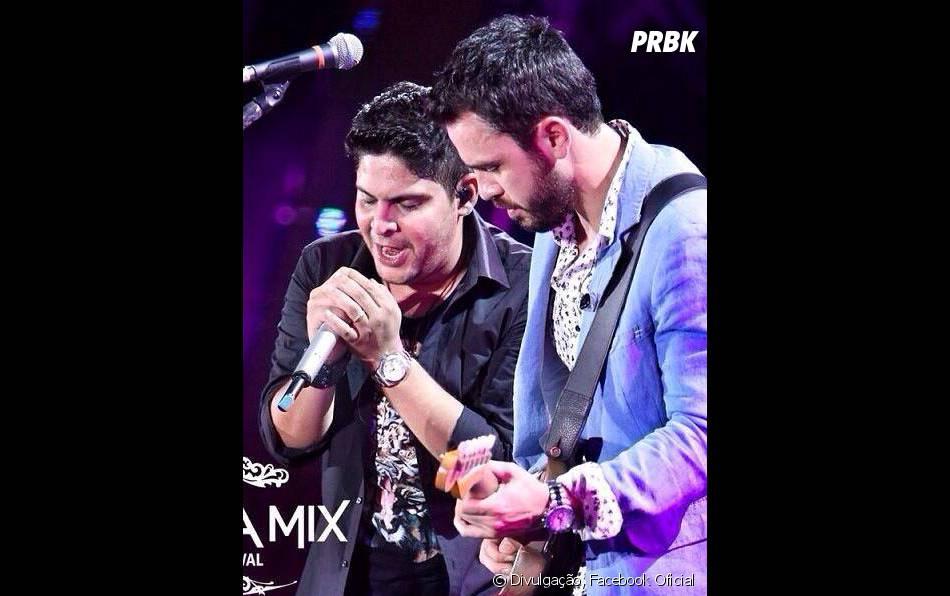 """Em """"Sintonize"""", os telespectadores irão ver Jorge e Mateus fazendo o público cantar no Villa Mix Festival"""