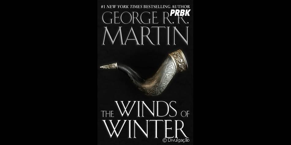 """Capa do livro """"The Winds of Winter"""", ainda sem data de lançamento divulgada"""