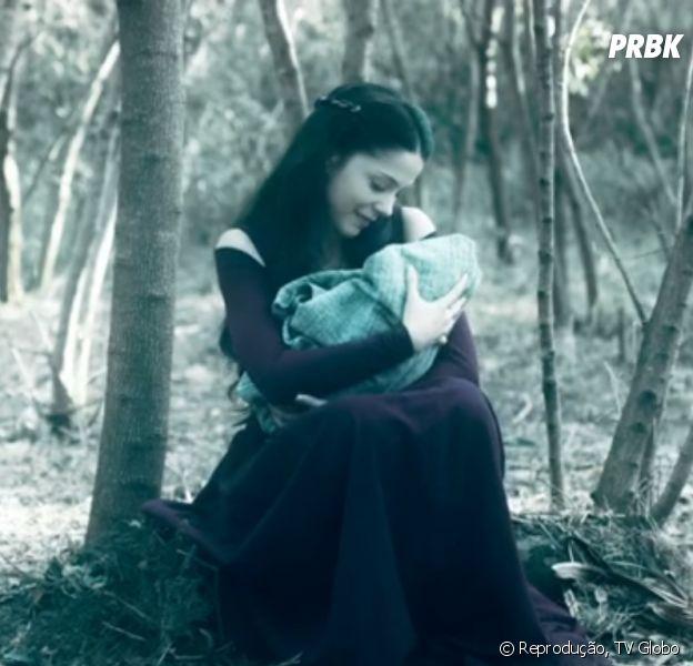 """Em """"Deus Salve o Rei"""", Brice (Bia Arantes) acredita que sua filha perdida está morta"""