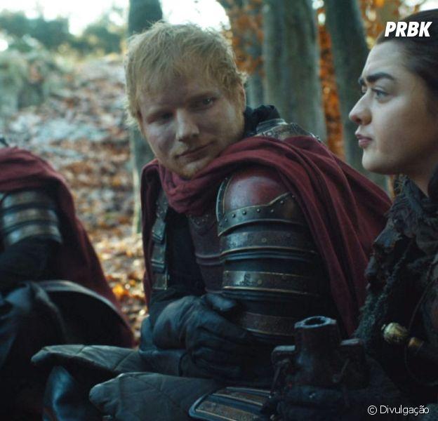 """Ator critica participação de Ed Sheeran em """"Game of Thrones"""""""