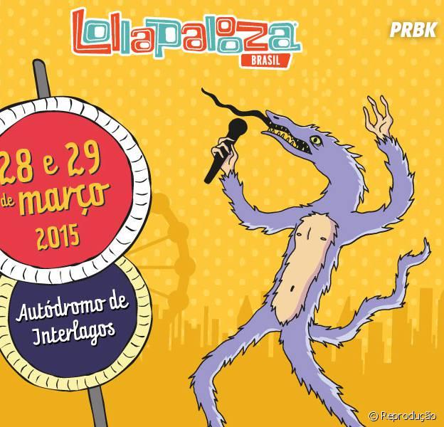 Lollapalooza 2015 já tem data divulgada para o Brasil