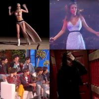 Anitta, Camila Cabello, BTS e os melhores vídeos dos famosos tomando susto